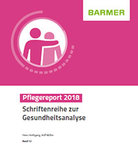 Cover Pflegereport 2018