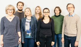 From left to right: Petra Buhr, Christian Koop, Anne Schröter, Katharina Timmermann, Roxana Leu, Nicole Henze, Johannes Huinink.