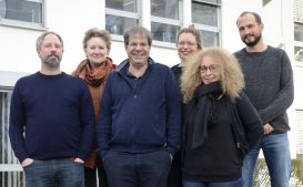 From left to right: Jean-Yves Gerlitz, Susan Westing-Kilian, Olaf Groh-Samberg, Nora Waitkus, Theresa Büchler, Nepomuk Hurch, missing: Julia Neuhof and Martin Leusch