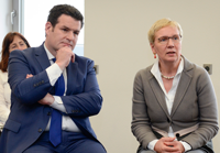 Hubertus Heil, Federal Minister of Labour and Social Affairs and Eva Quante-Brandt, Minister of Science, Health and Consumer Protection