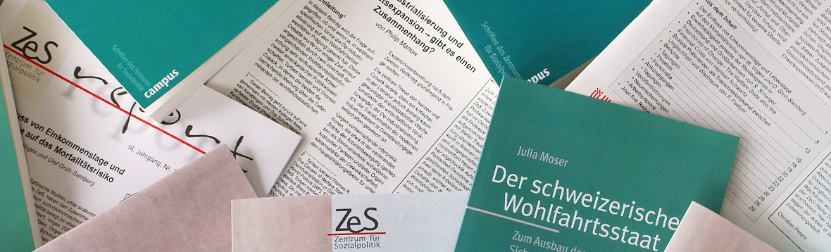 ZeS-Publications (Working Paper, Book Series, ZeS report)