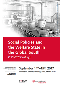 Konferenz Social Policies and the Welfare State in the Global South (19th–20th Century)